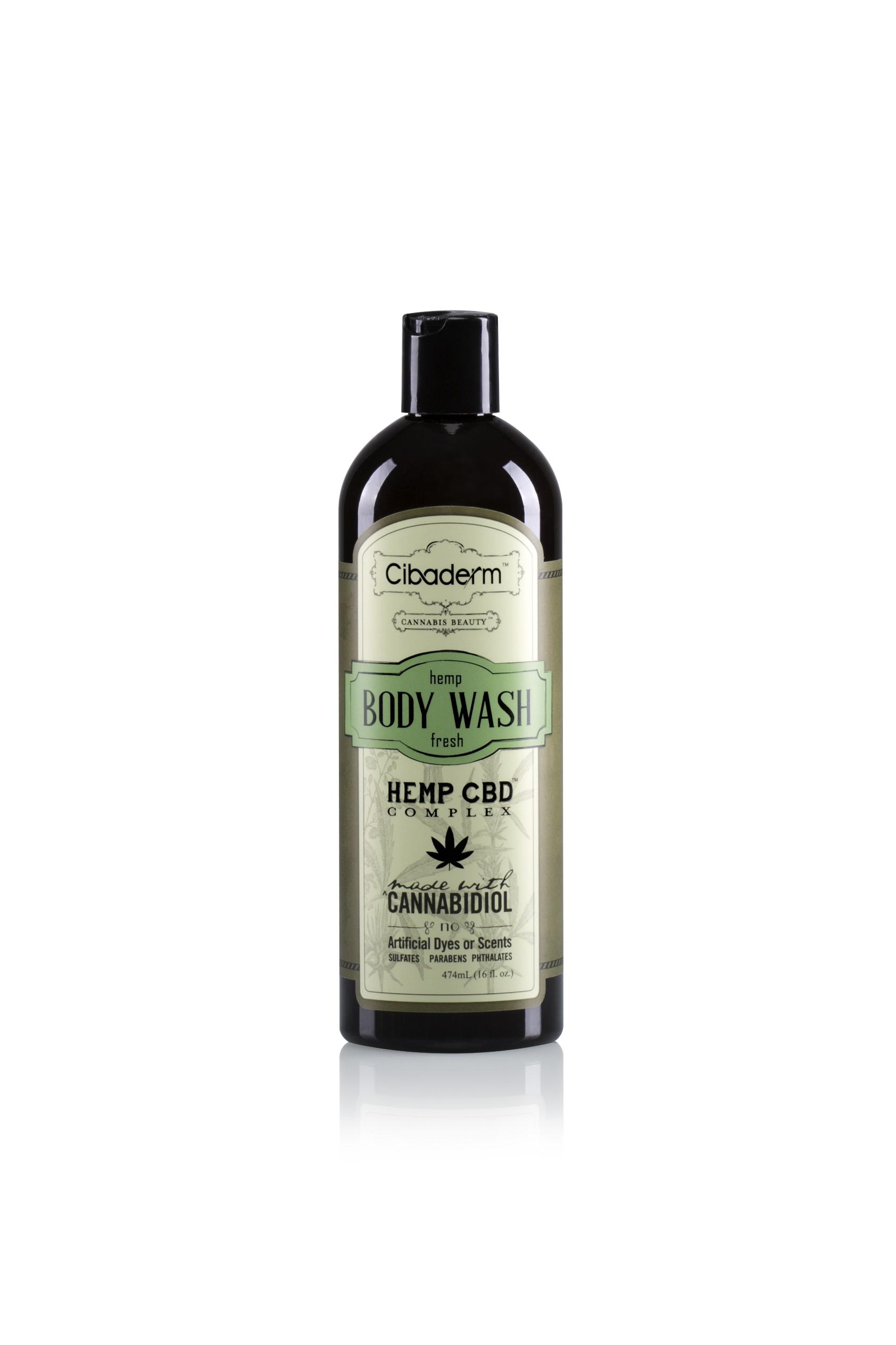 CBD Hemp Oil Natural Body Wash