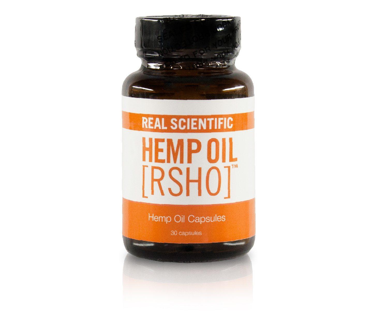 Real Scientific Hemp Oil™ [RSHO]™ new cannabidiol (CBD) hemp oil whole food in convenient capsules.)
