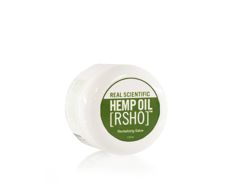 Real Scientific Hemp Oil™ [RSHO]™ new cannabidiol (CBD) hemp oil topical salve.)