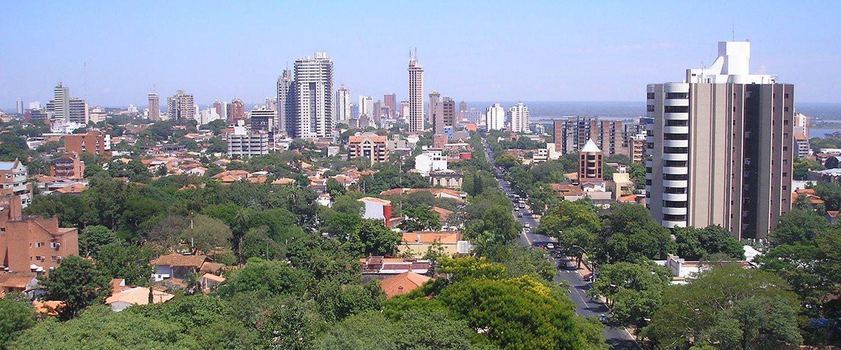 Paraguay Skyline