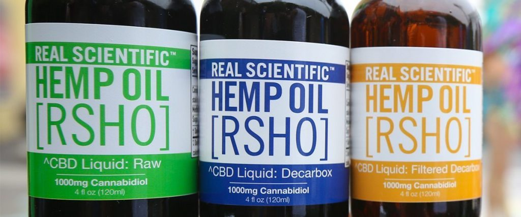 CBD hemp oil products