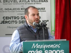 raul elizalde speaking before the president for legalization for cbd