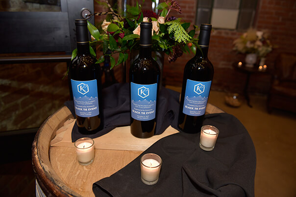 special wine for black-tie event