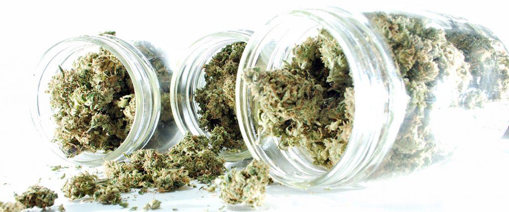 marijuana flower decarboxylated