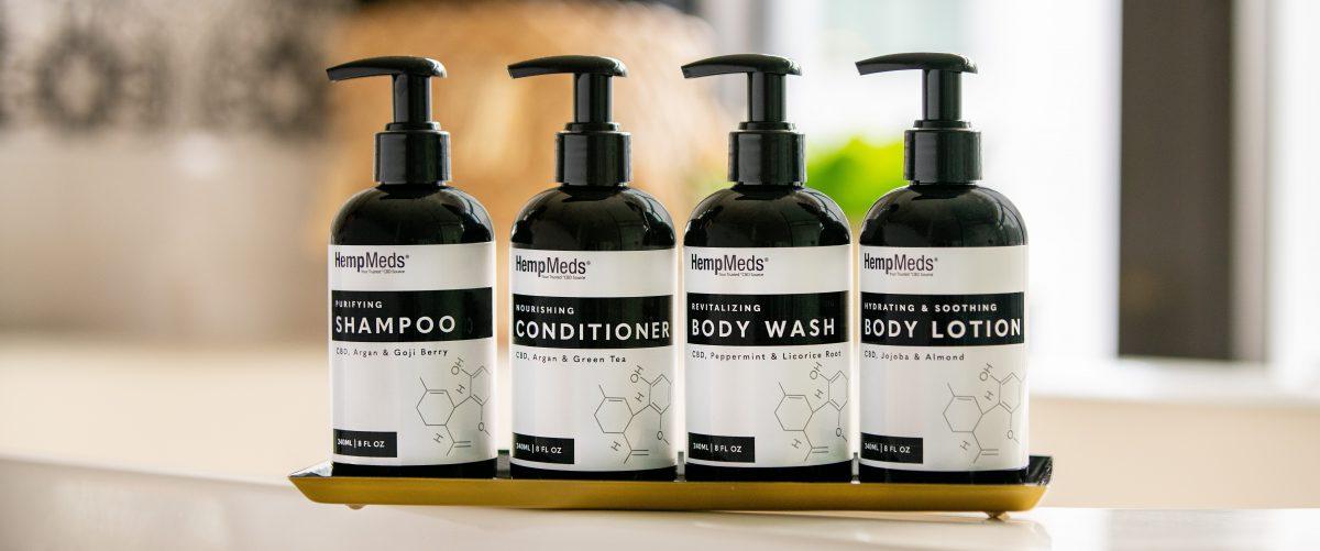 CBD shampoo conditioner hemp