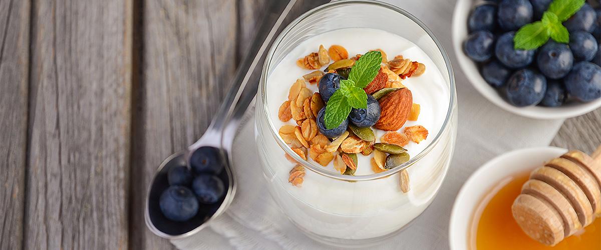CBD yogurt parfait recipe