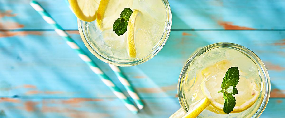 CBD Infused Lemonade Spritzer Recipe
