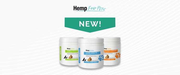 Introducing new Hemp for Pets Soft Chews