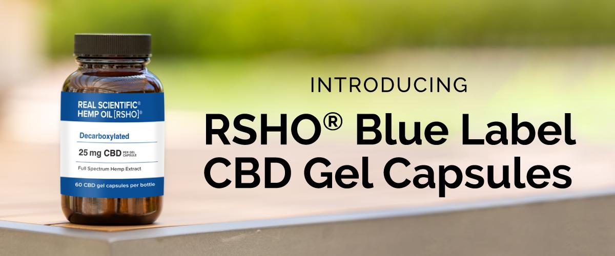 RSHO® Blue Label CBD Oil Capsules