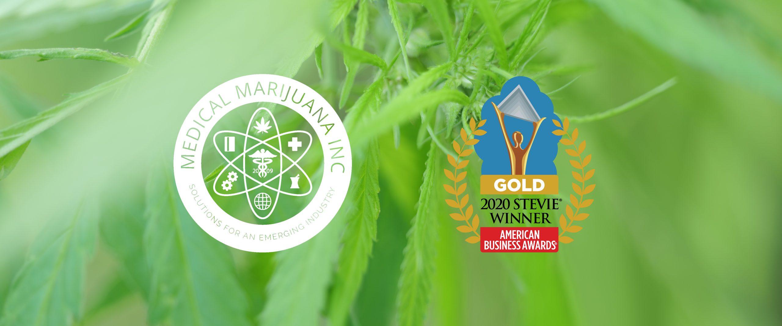 Medical Marijuana, Inc. Gold Stevie Award Winner